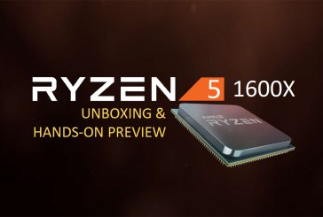 The AMD Ryzen 5 1600X Processor First Look