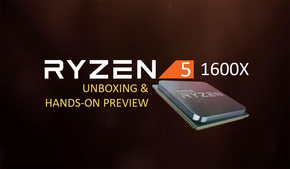 The AMD Ryzen 5 1500X CPU First Look