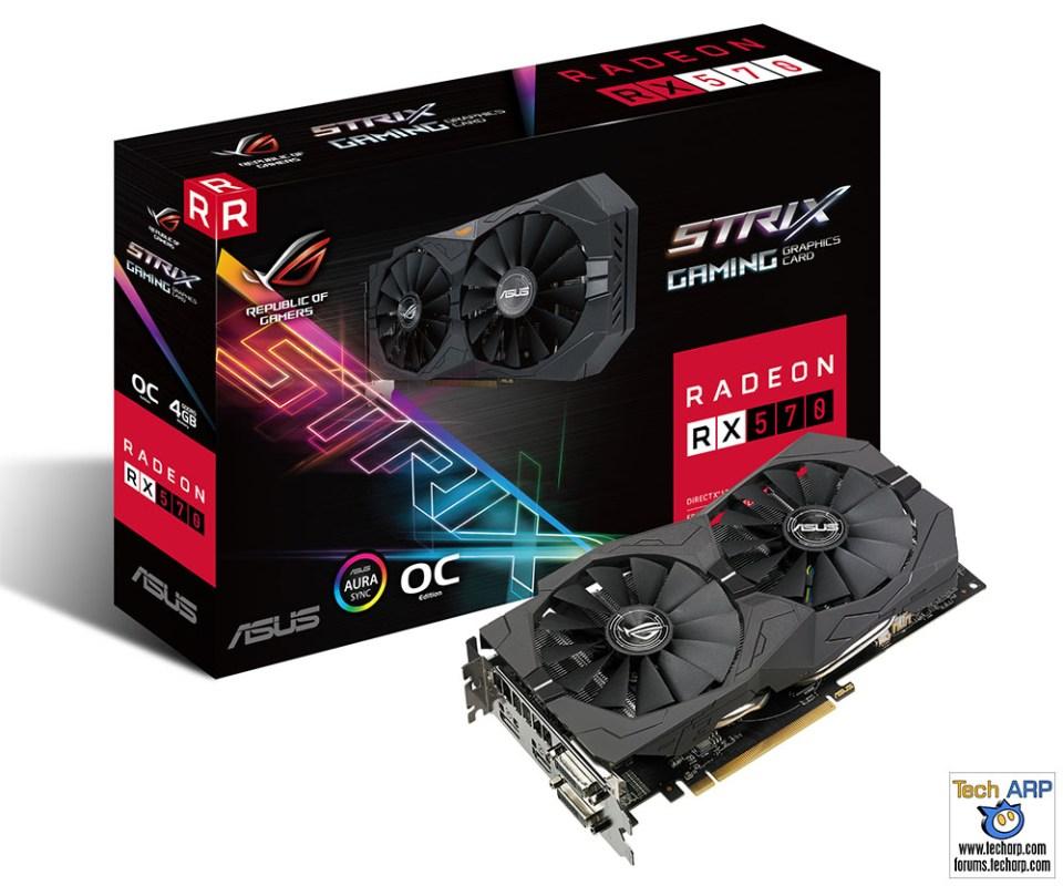 ROG Strix Radeon RX 570 OC Edition