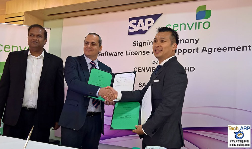 Cenviro moves to the cloud with SAP Suite on HANA