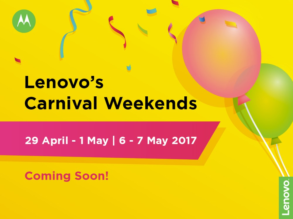 Great Deals @ The Lenovo Mobile Carnival Weekends!