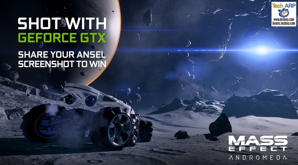 The Mass Effect: Andromeda Ansel Contest Details