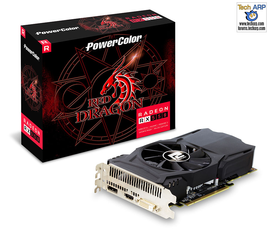 PowerColor Radeon Red Dragon RX 550