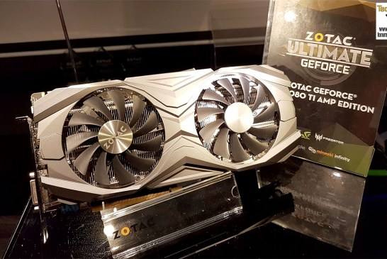 The ZOTAC GeForce GTX 1080 Ti AMP Cards Revealed!