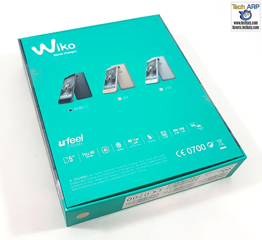 The Wiko U Feel Prime box