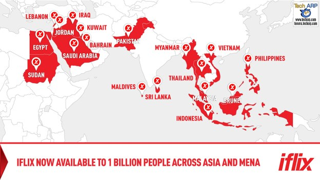 iflix Middle East & North Africa Goes Live!