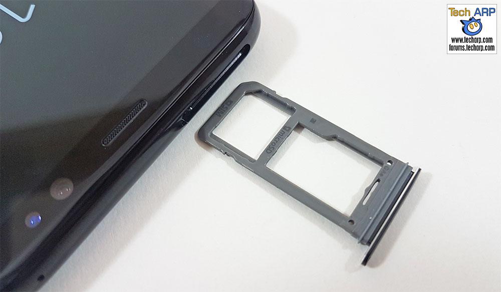 The Samsung Galaxy S8 hybrid SIM