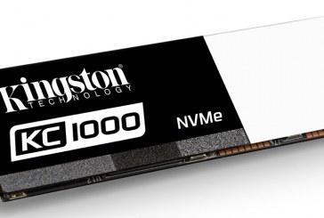 The Kingston KC1000 NVMe PCIe SSD Announced!