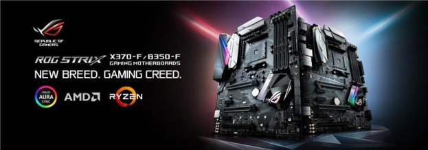ASUS Announces Strix X370-F Gaming & Strix B350-F Gaming