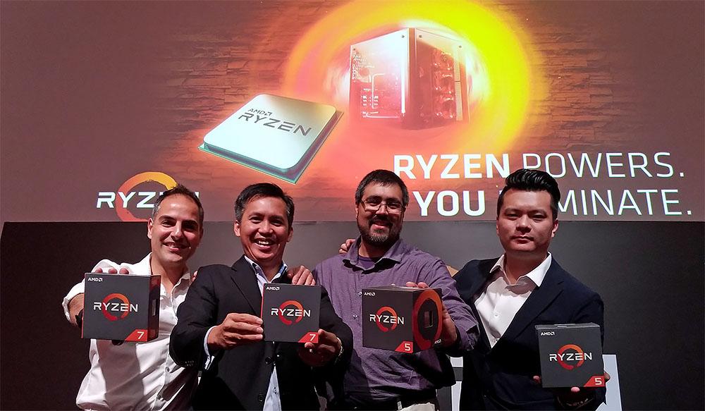 The AMD Ryzen 5 & Radeon RX 500 Series Tech Briefing