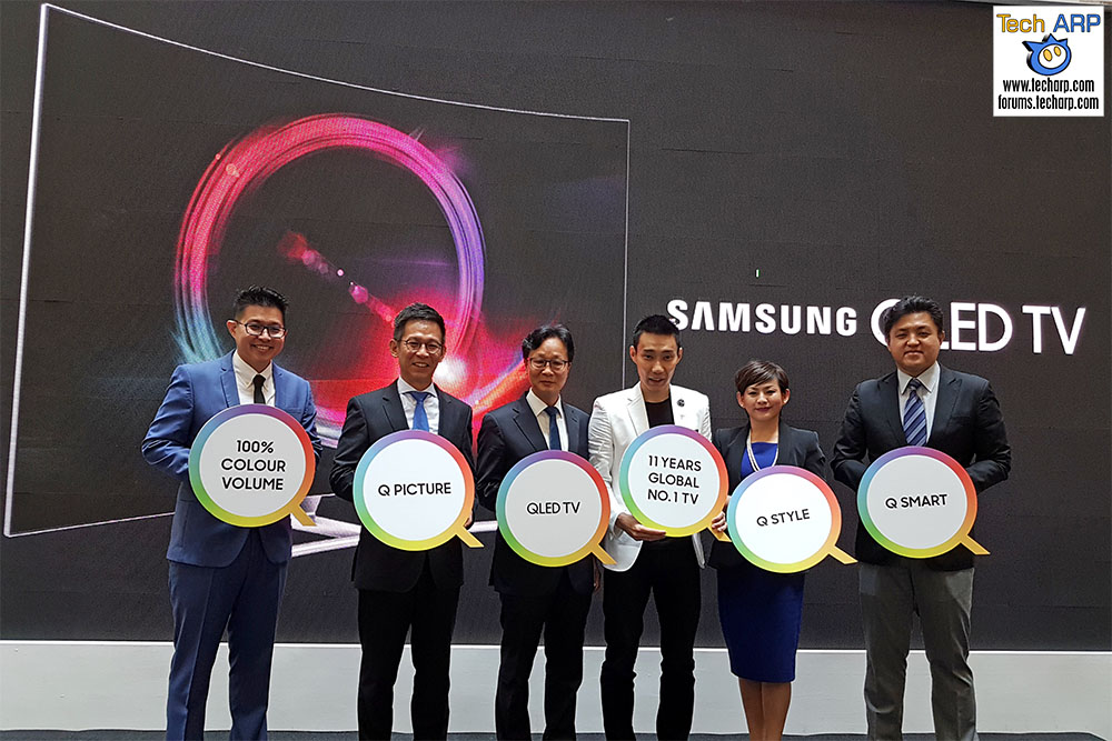 The 2017 Samsung QLED TV Range Arrives In Malaysia! | Tech ARP