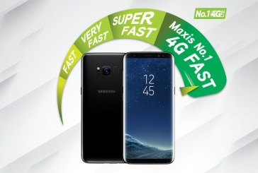 Maxis 4G-LTE Advanced On The Samsung Galaxy S8