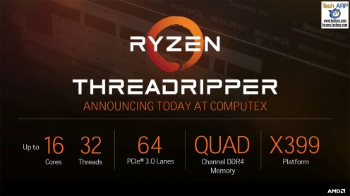 The AMD Ryzen Threadripper CPU Details Revealed!