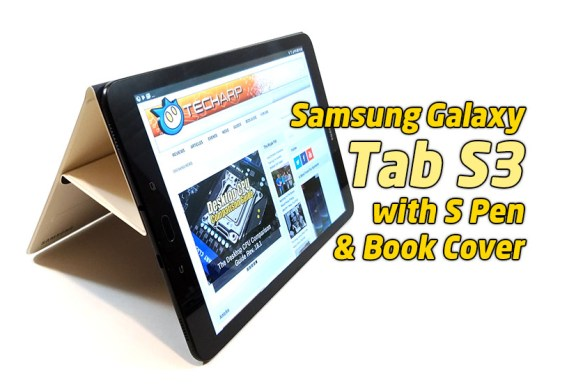 The Samsung Galaxy Tab S3 (SM-T825) Tablet Review
