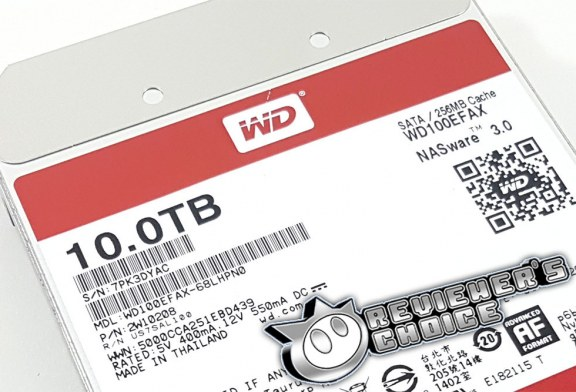 The 10TB WD Red (WD100EFAX) Hard Disk Drive Review