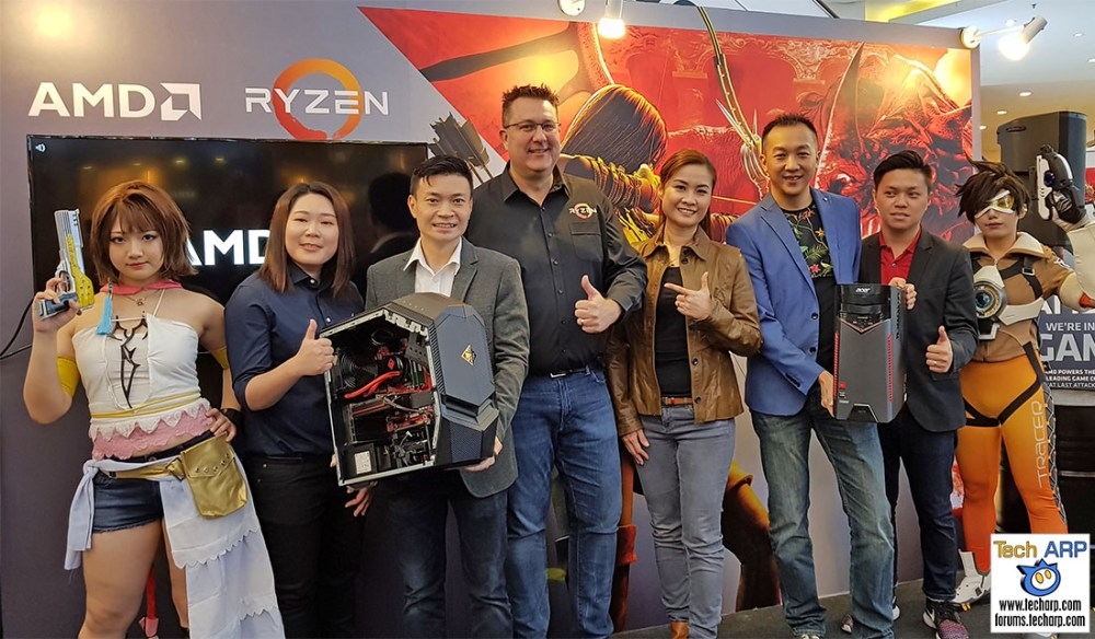 HP & Acer Introduce AMD Ryzen Gaming Desktops!