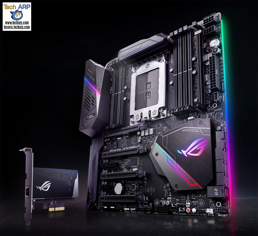 The First AMD X399 Motherboards - ASUS ROG Zenith Extreme X399