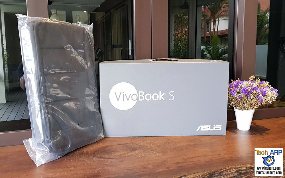 The ASUS VivoBook S15 (S510U) Laptop Package