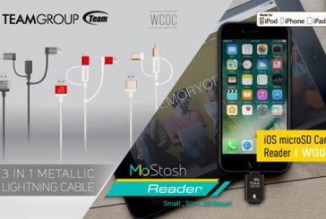 Team Group MoStash Reader & WC0C Cable Announced