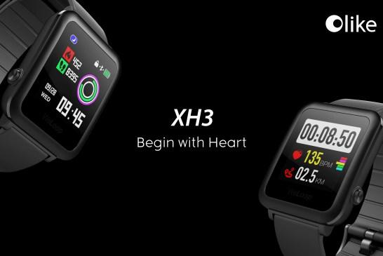The Olike XH3 smartwatch