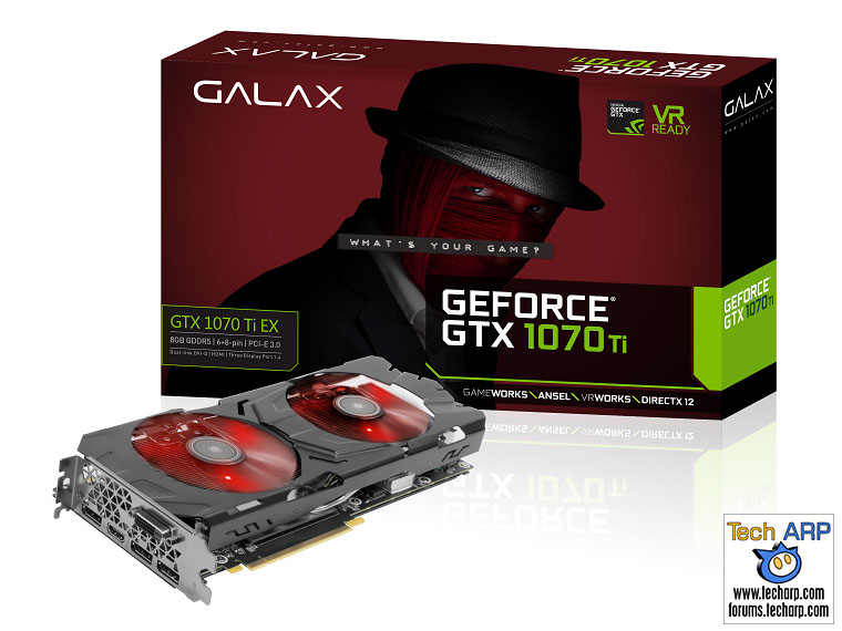 GALAXY GeForce GTX 1070 Ti EX