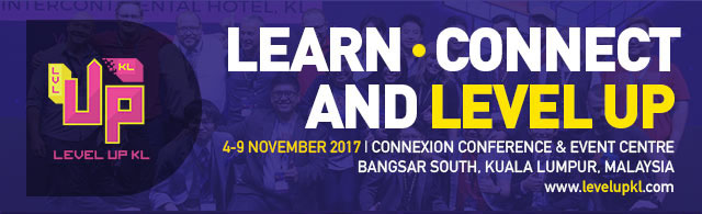 The LEVEL UP KL 2017 Conference Details Revealed!