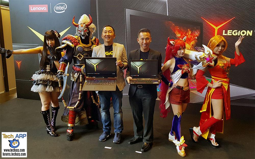 The Lenovo Legion Y920, Y720 Tower & Y520 Tower Revealed!