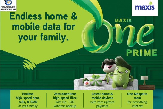 The MaxisONE Prime All-In-One Family Plan Explained!