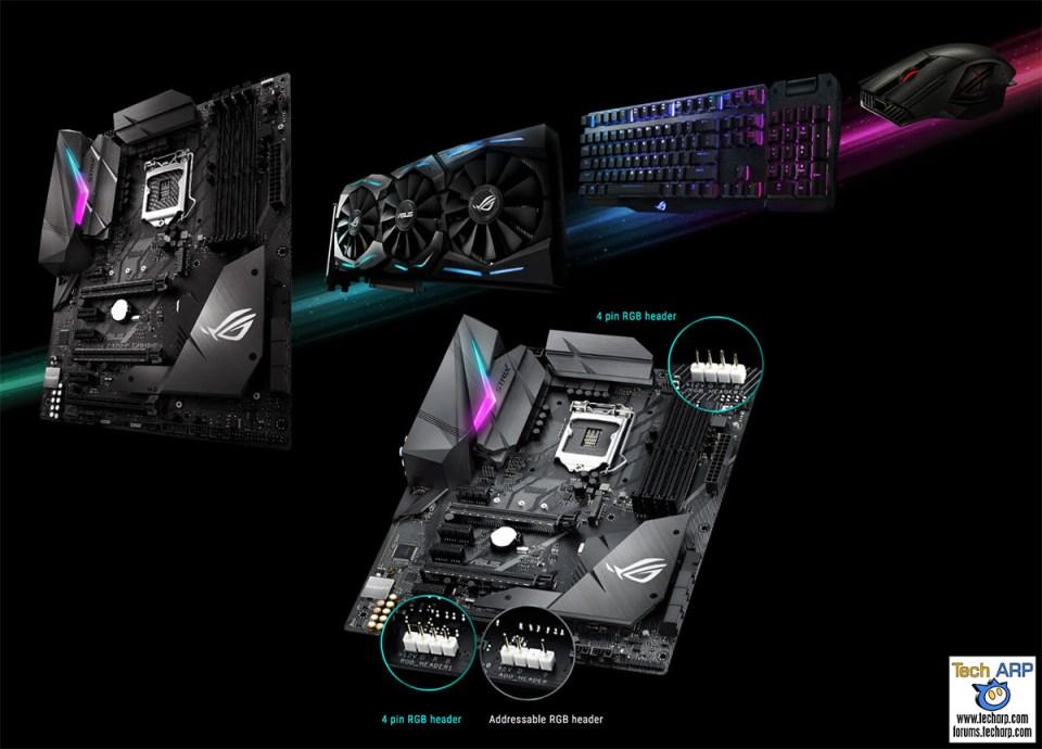 ASUS ROG Strix Z370-F Gaming Aura Sync