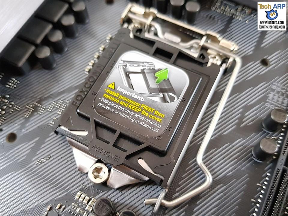ASUS ROG Strix Z370-F Gaming CPU socket