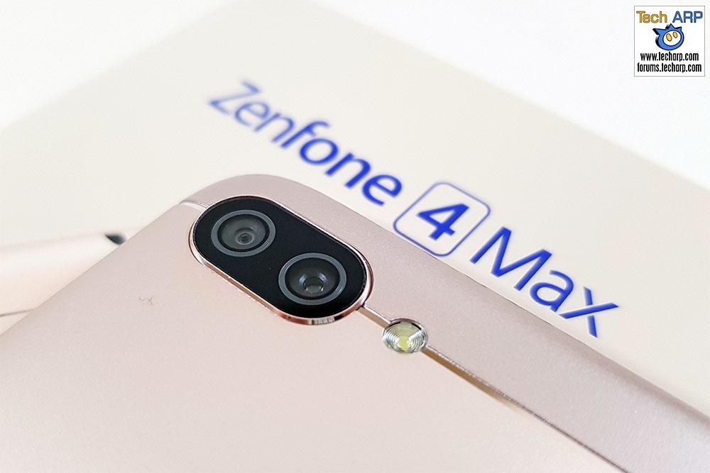 ASUS ZenFone 4 Max Pro camera rear