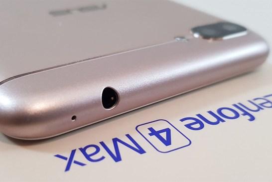 ASUS ZenFone 4 Max Pro top