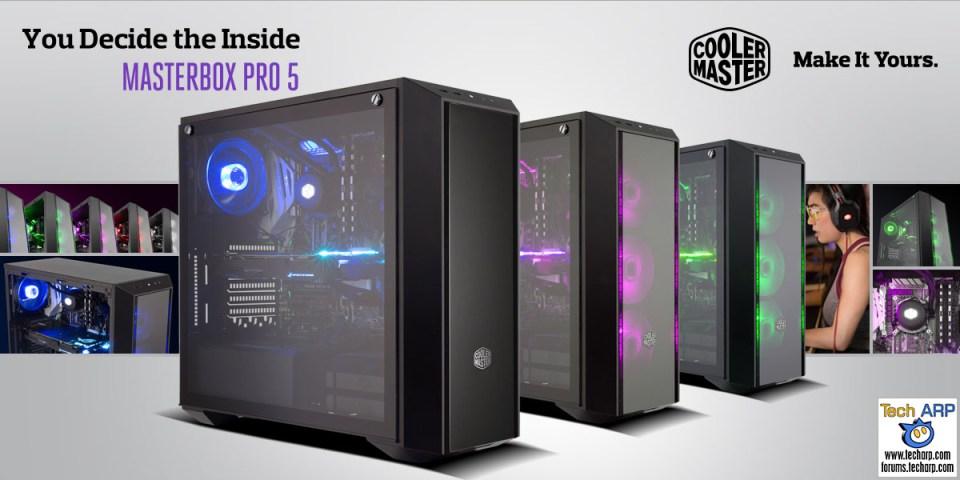 The Cooler Master MasterBox Pro 5 Revealed!