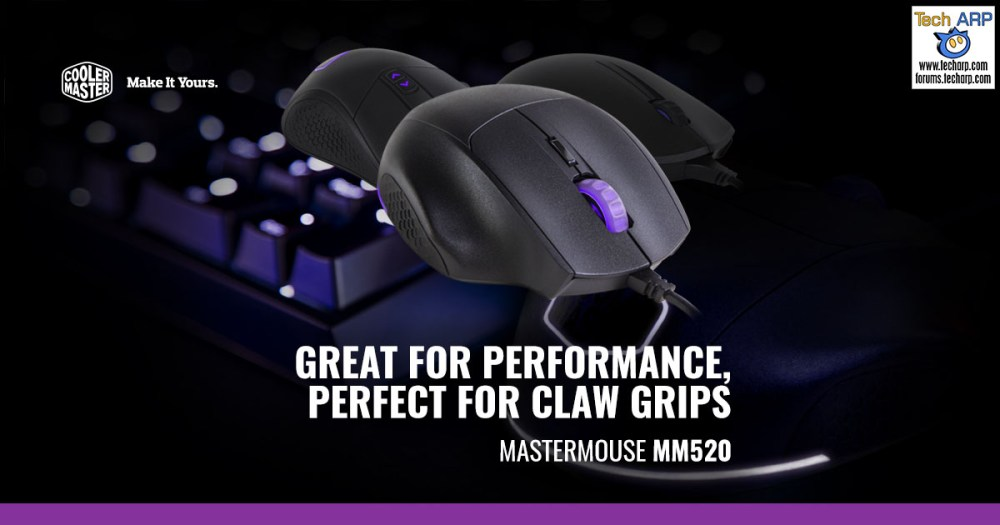The Cooler Master MasterMouse MM520