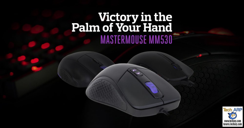 The Cooler Master MasterMouse MM530