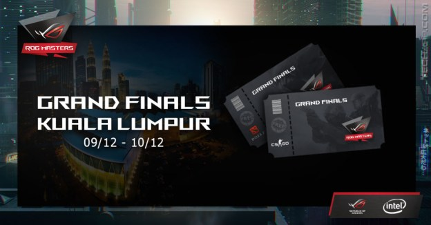 Catch The ROG Masters 2017 Grand Finals This December!