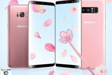 The SamsungGalaxy Note8, S8+ and S8 Pink Edition Revealed!