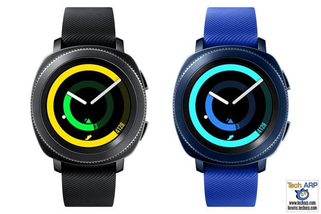 The Samsung Gear Sport Smartwatch Revealed!