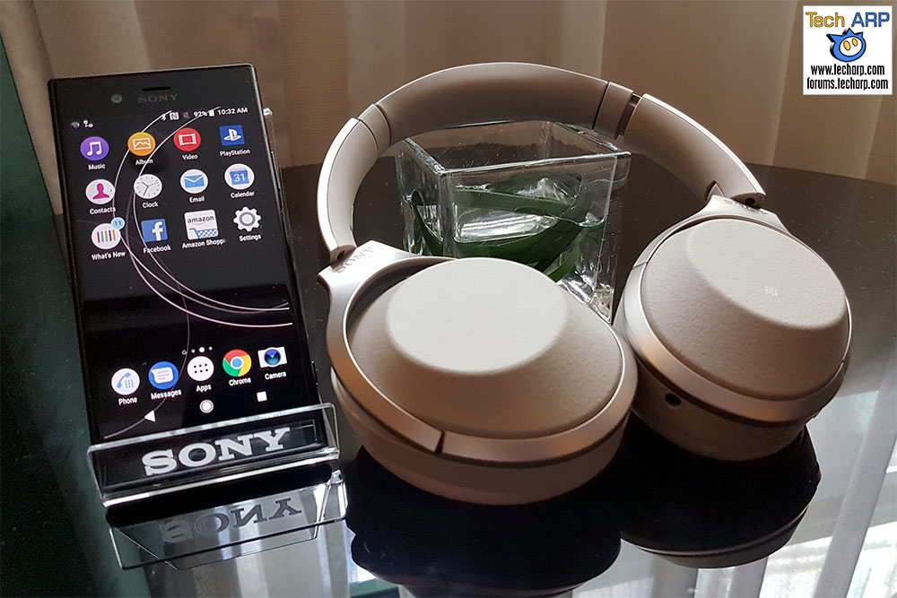 The Sony 1000X Mark 2 Noise Cancelling Headphones