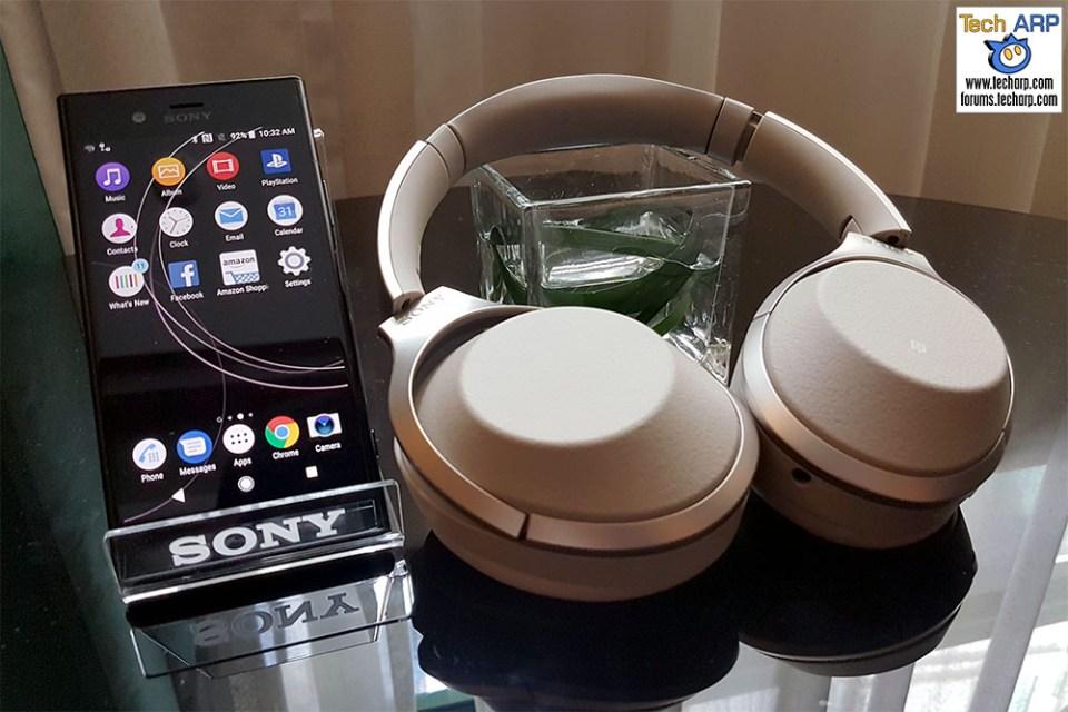 The Sony 1000X Mark 2 Noise Cancelling Headphones