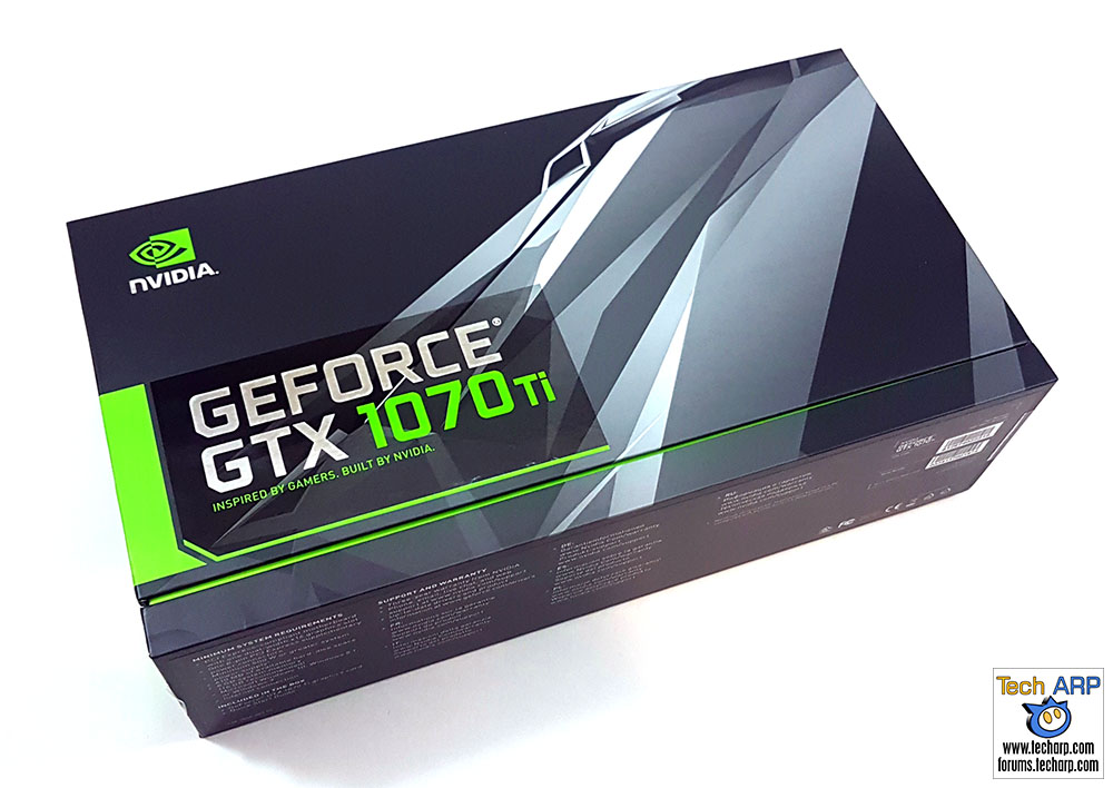 NVIDIA GeForce GTX 1070 Ti box