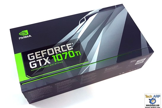 NVIDIA GeForce GTX 1070 Ti box