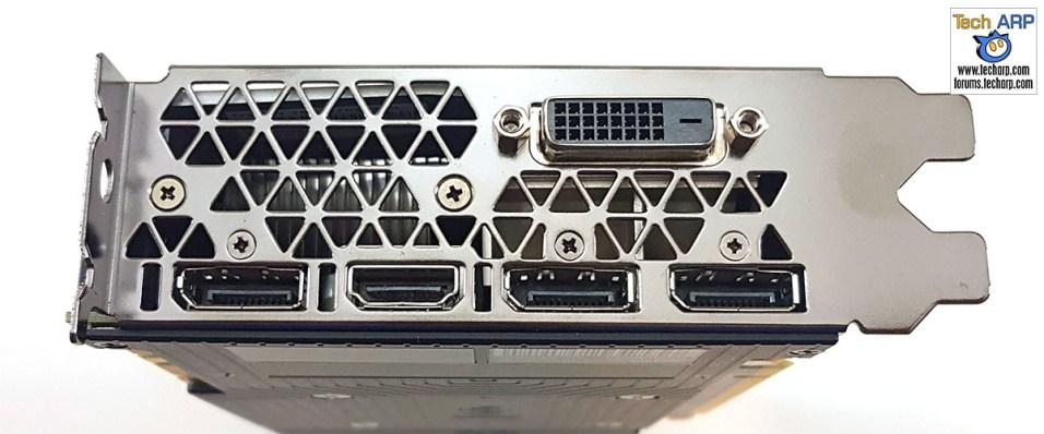 NVIDIA GeForce GTX 1070 Ti display ports