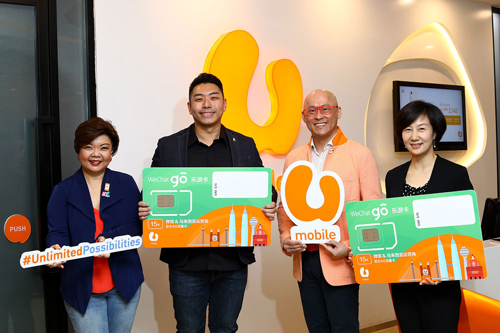 U Mobile WeChat Go SIM - Unlimited Data For Chinese Tourists!