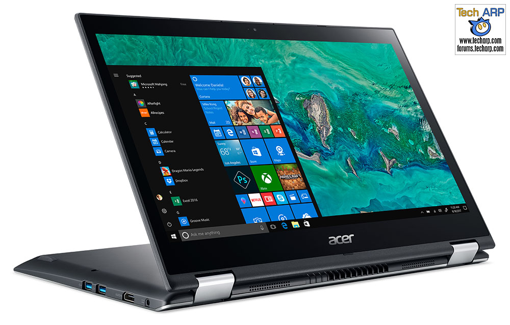 CES 2018 : New Acer Spin 3 Laptop Revealed!