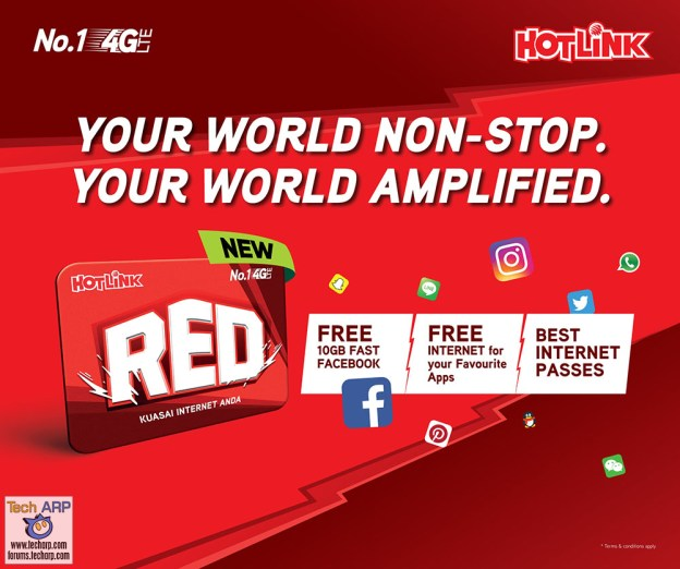 The Maxis Hotlink RED Prepaid Plan Revealed!