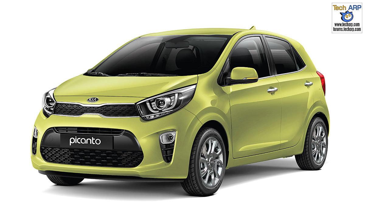 The Kia Picanto 2018 Price Amp Features Revealed Tech Arp