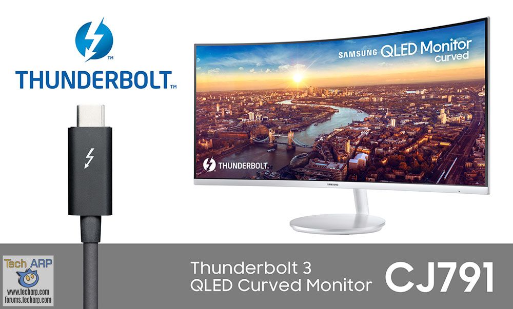 The Samsung CJ791 - First Thunderbolt 3 QLED Curved Monitor!