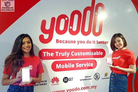 The Yoodo Fully-Digital, Fully-Customisable 4G Service Revealed!