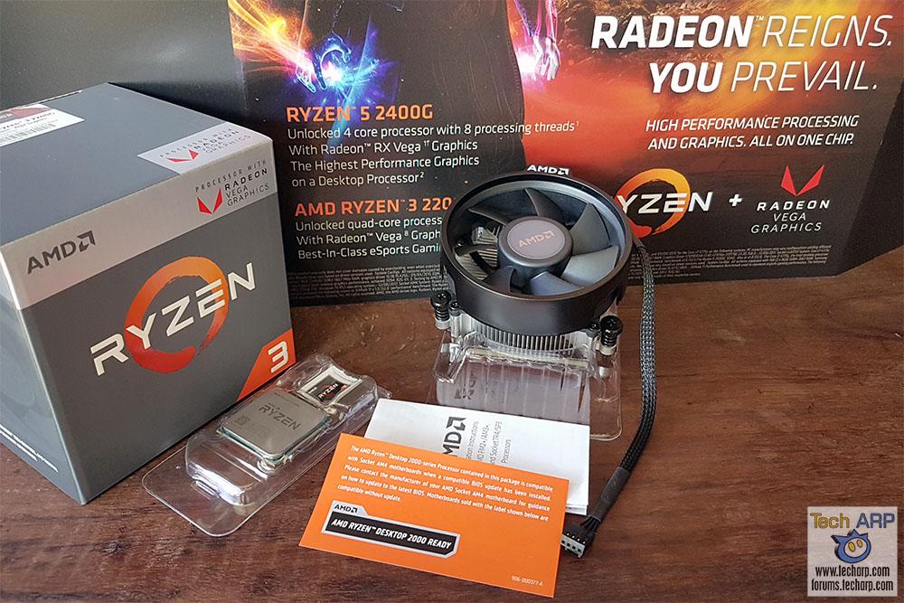 Amd Ryzen 3 2200g With Radeon Vega 8 Graphics Review Tech Arp
